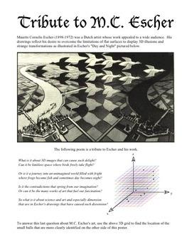 Tribute to M.C. Escher