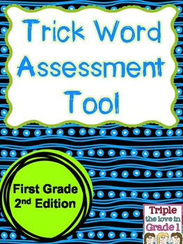 Trick Word Assessment Tool