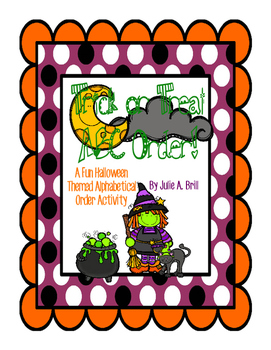 Trick or Treat ABC Order