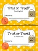Trick or Treat Counting Book