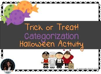 Trick or Treat Halloween Categories