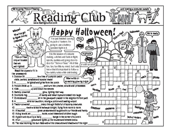 Trick or Treat (Halloween) Two-Page Activity Set