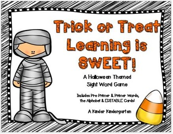 Trick or Treat Learning is SWEET!