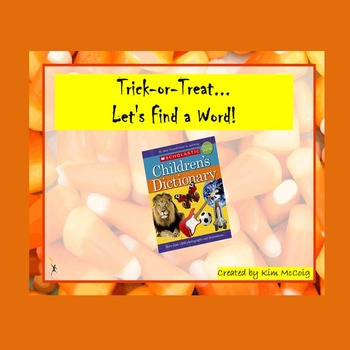 Trick-or-Treat... Let's Find a Word!