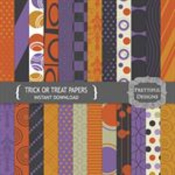 Trick or Treat Paper Pack