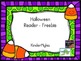 Trick or Treat Reader Freebie