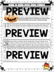 Trick or Treat Round Robin Writing Activity--Editable Candies!