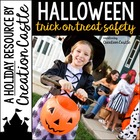 Halloween Activities - Trick or Treat Safety Printable Reader