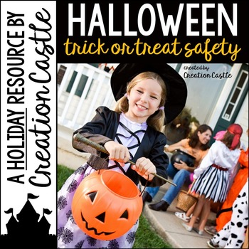 Halloween Trick or Treat Safety Guided Reading Book