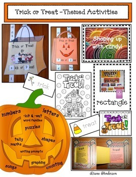 Trick or Treat - Themed Activities
