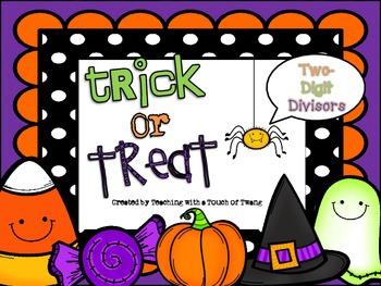 Trick or Treat: Two-Digit Divisors