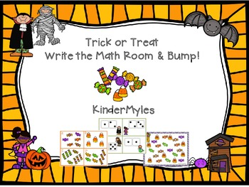 Trick or Treat Write the Math Room Bump