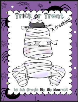 Trick or Treat...A Halloween Freebie!