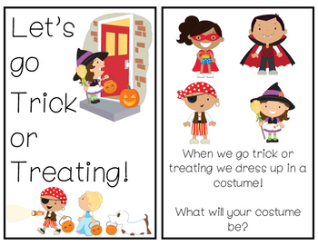 Halloween Trick or Treating Safety Book