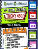 Tricky 450! 4th Grade Spelling Workbook | 30 Weeks | Daily