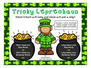 Tricky Leprecahun Real vs Nonsense words