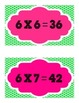 Tricky Multiplication Facts Mini Posters