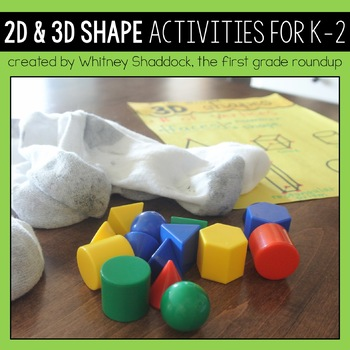 Tricky Shapes: Complete Geometry Packet for K-2