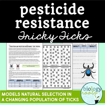 Evolution- Pesticide Resistance Natural Selection