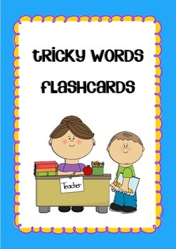 Tricky Words Flashcards