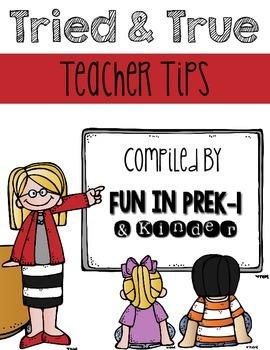 Tried & True Teacher Tips Freebie File