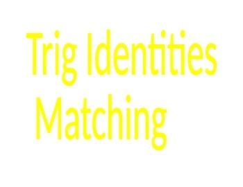Trig Identity Matching