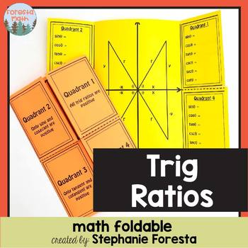 Trig Ratios Foldable