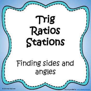 Trig Ratios Stations