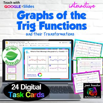 Trig Transformations of Functions Interactive Digital Task