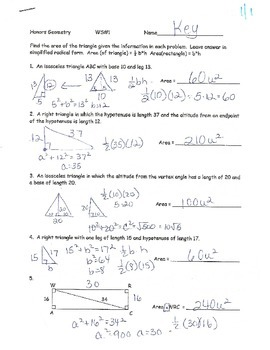 Trig Unit HomeworkWorksheets KEYS