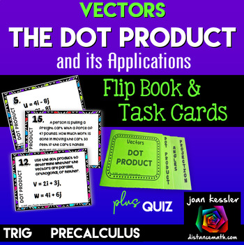 Trig Vectors Dot Product