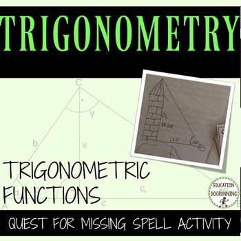 Trigonometric Functions Mixed Practice and Review Activity