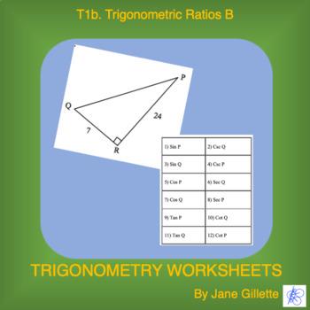 Trigonometric Ratios B