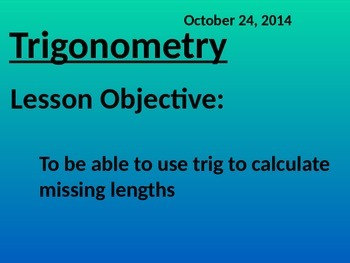 Trigonometry in right angle triangles 2D and 3D - Common C