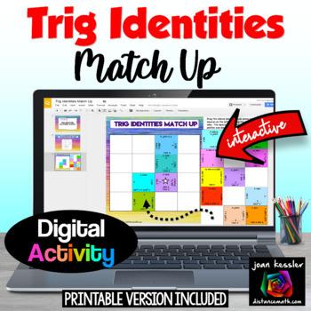 Trigonometry  Interactive Identites Puzzle GOOGLE edition