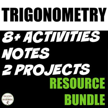 Trigonometry - Introduction to Trigonometry Bundle (SAVE)