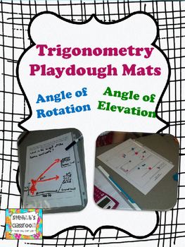 Trigonometry Playdough Mats