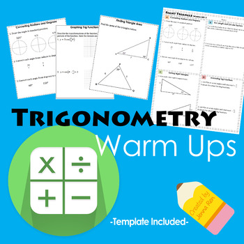 Trigonometry Warm Ups