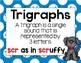 Trigraph Anchor Chart & Practice BUNDLE {Click File, Print}