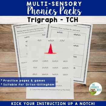 TCH Phonics Activities Multisensory Phonics Approach Orton