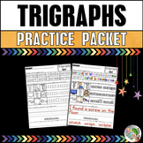 Trigraphs (3 Letter Blends) Practice Packet