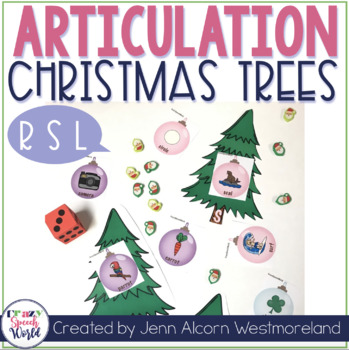 Trim the Speech Tree R, S, L Edition for Speech Therapy
