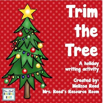 Trim the Tree: Christmas Writing Activity