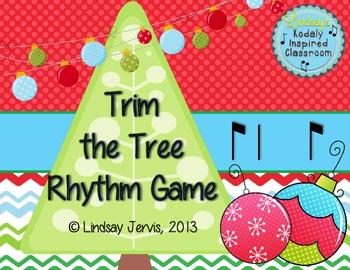 Trim the Tree Rhythm Game: syncopa