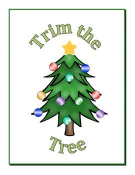 Trim the Tree Ten Frame Game