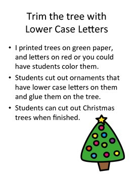Trim the Tree with Lowercase  Letters