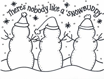 Trio of  SNOW BUDDIES