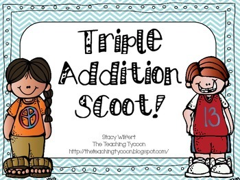 Triple Addition Scoot
