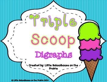 Triple Scoop Digraphs
