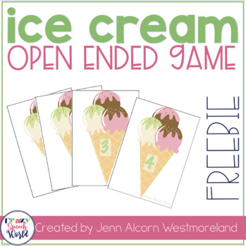 Triple Scoop Open-Ended Card Game